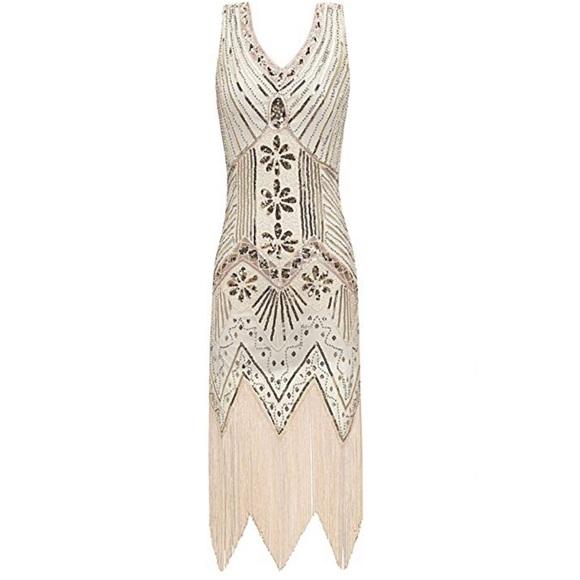 a14c9681634 Great Gatsby Flapper Dress